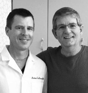 Dr. VanBlarcom and Thomas Brooks